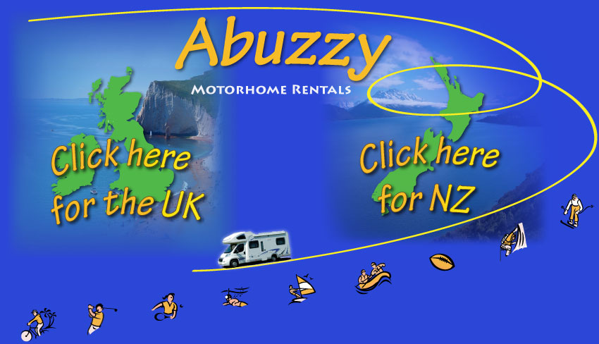 RV hire in the UK & New Zealand